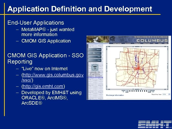 Application Definition and Development End-User Applications – Meta. MAP® - just wanted more information