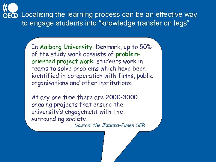 "…Localising the learning process can be an effective way to engage students into ""knowledge"