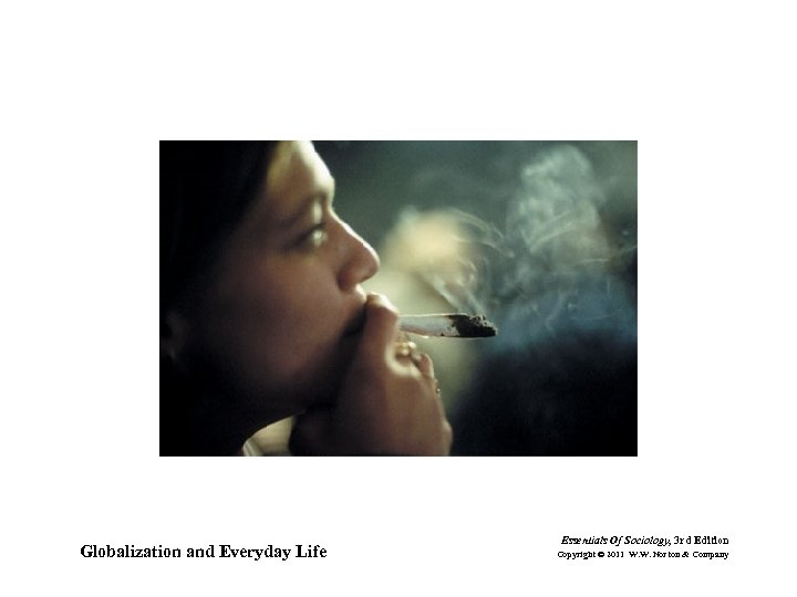 Globalization and Everyday Life Essentials Of Sociology, 3 rd Edition Copyright © 2011 W.