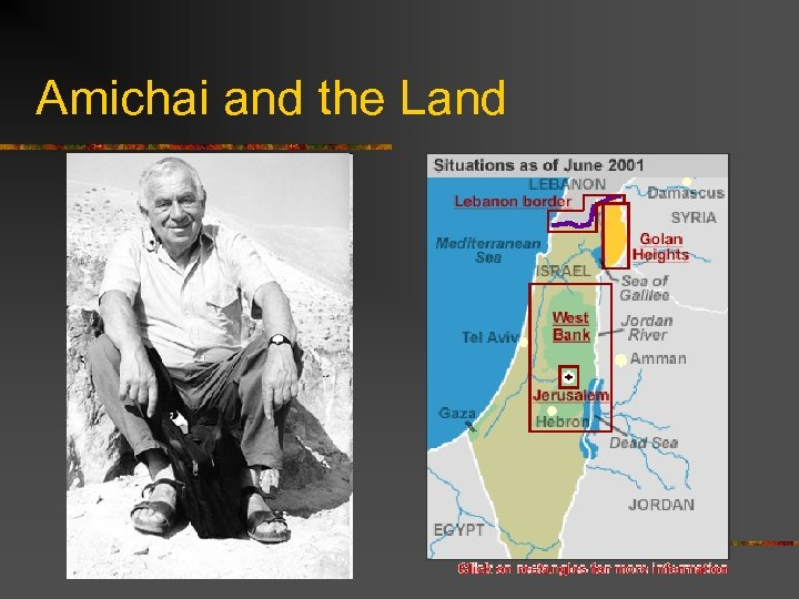 Amichai and the Land