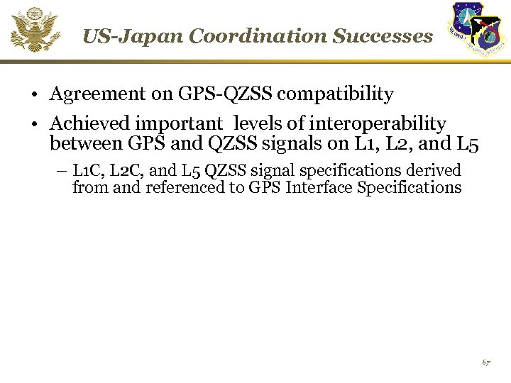 United States Global Positioning System GPS and Augmentation