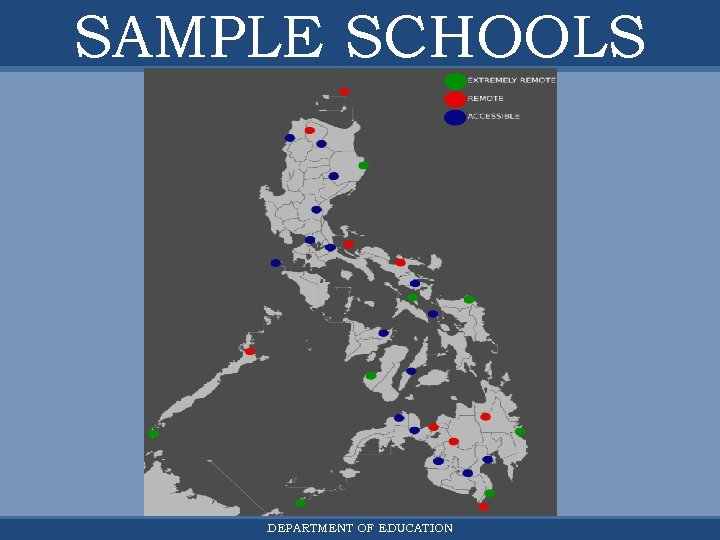 SAMPLE SCHOOLS DEPARTMENT OF EDUCATION