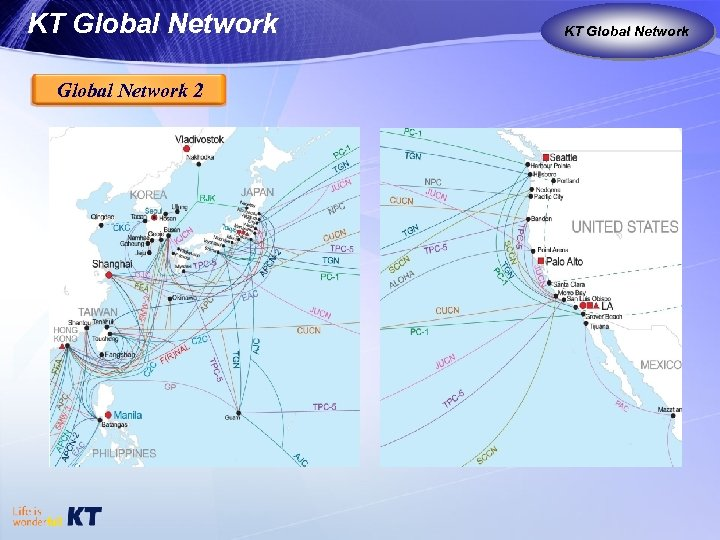 KT Global Network 2 KT as Global Carrier Global Network