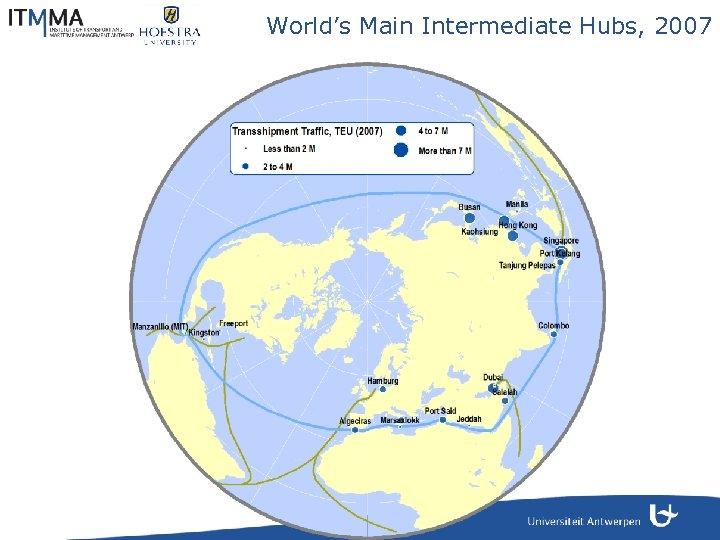 World's Main Intermediate Hubs, 2007