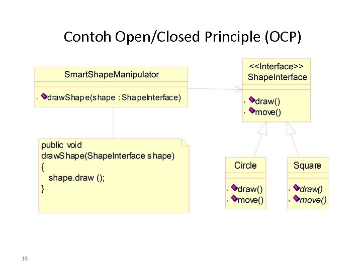 Contoh Open/Closed Principle (OCP) 18