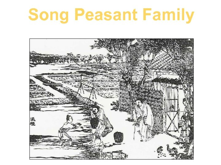 Song Peasant Family