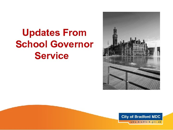 Updates From School Governor Service