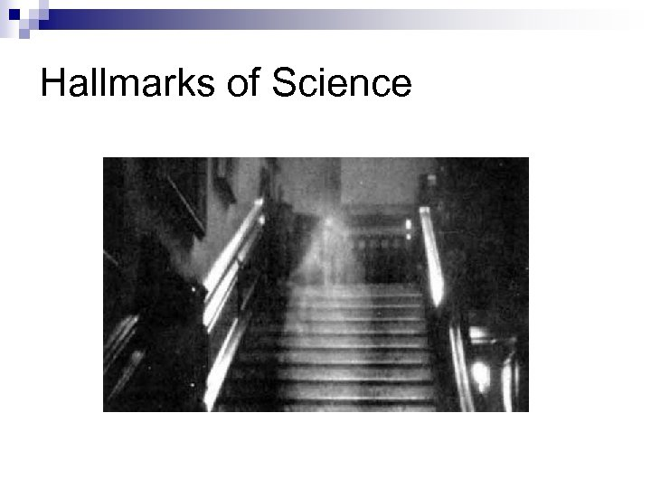 Hallmarks of Science
