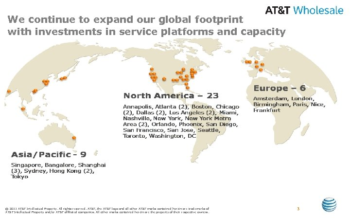 We continue to expand our global footprint with investments in service platforms and capacity