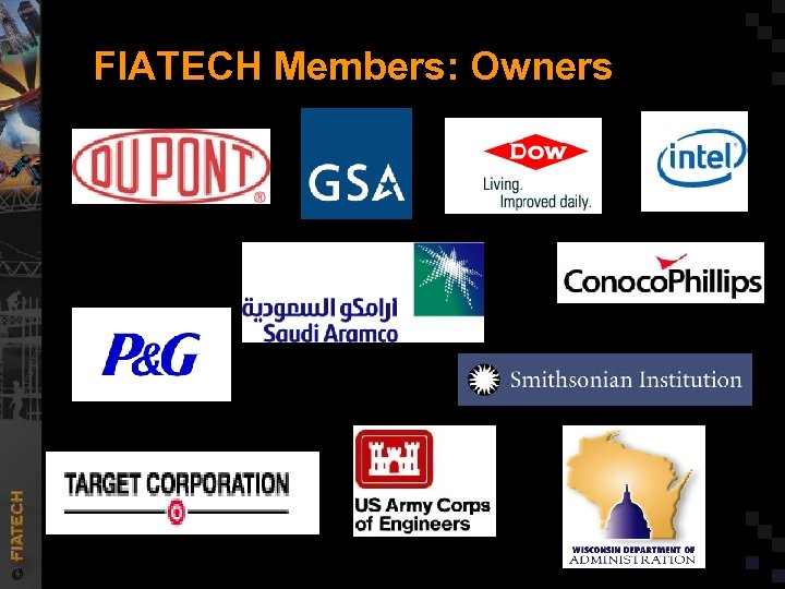 FIATECH Members: Owners