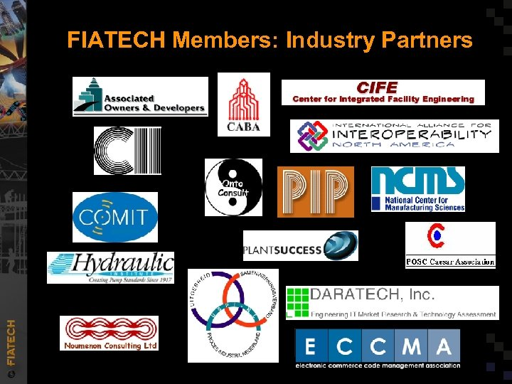 FIATECH Members: Industry Partners