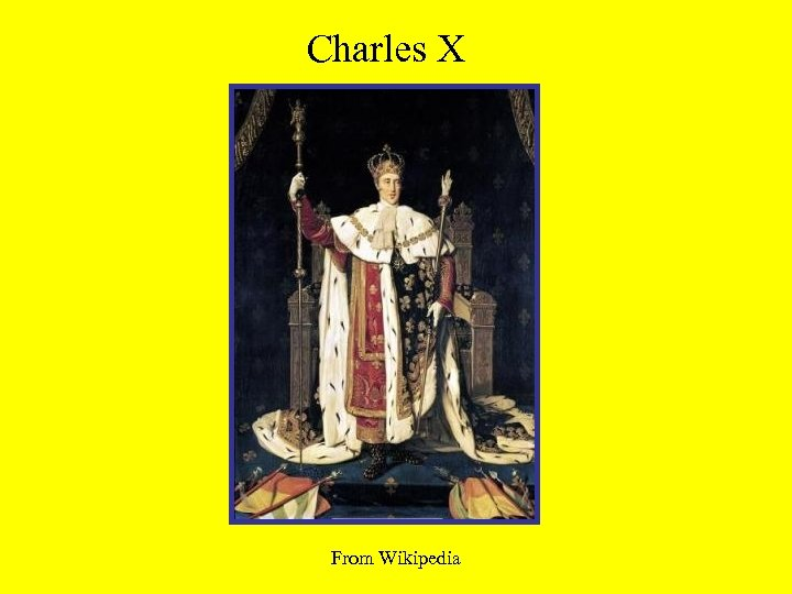 Charles X From Wikipedia