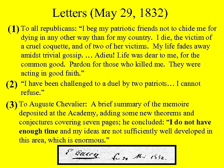"""Letters (May 29, 1832) (1) To all republicans: """"I beg my patriotic friends not"""