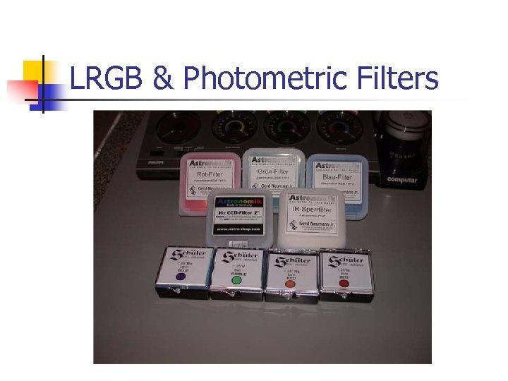 LRGB & Photometric Filters