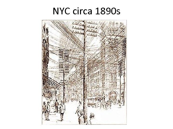 NYC circa 1890 s