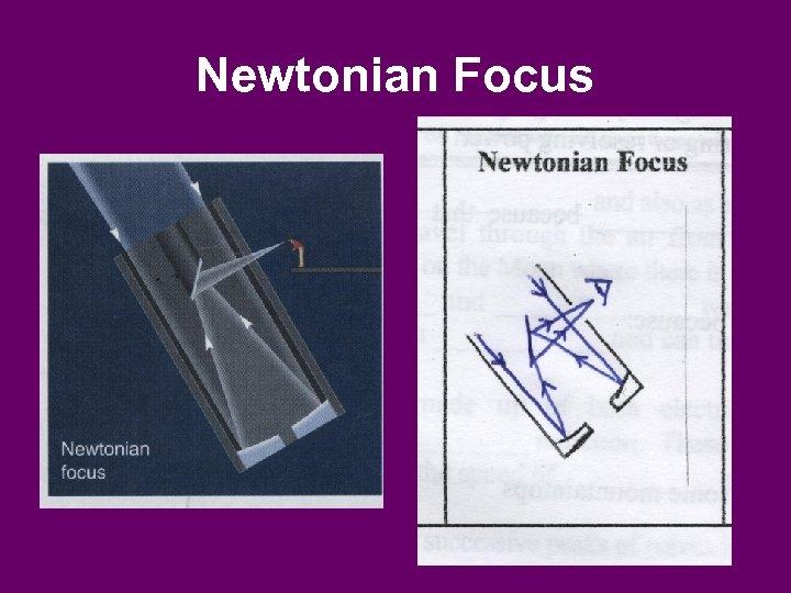 Newtonian Focus