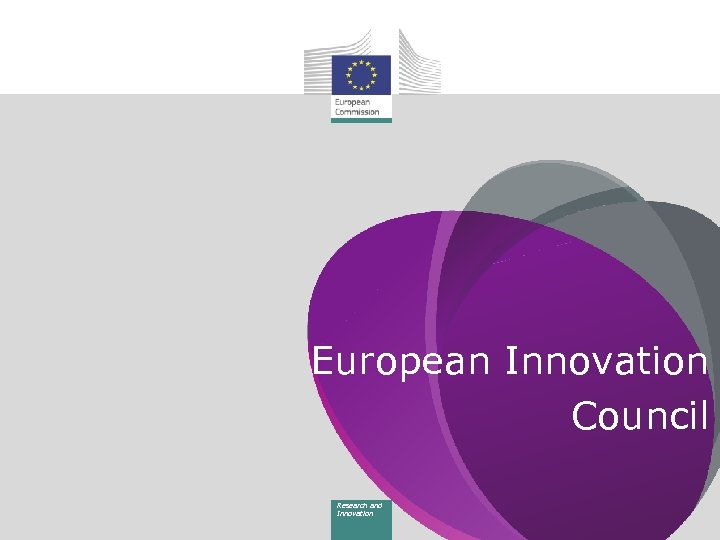 European Innovation Council Research and Innovation