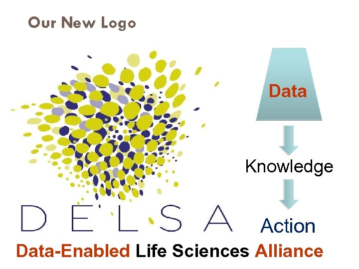 Our New Logo Data Knowledge Action Data-Enabled Life Sciences Alliance 2