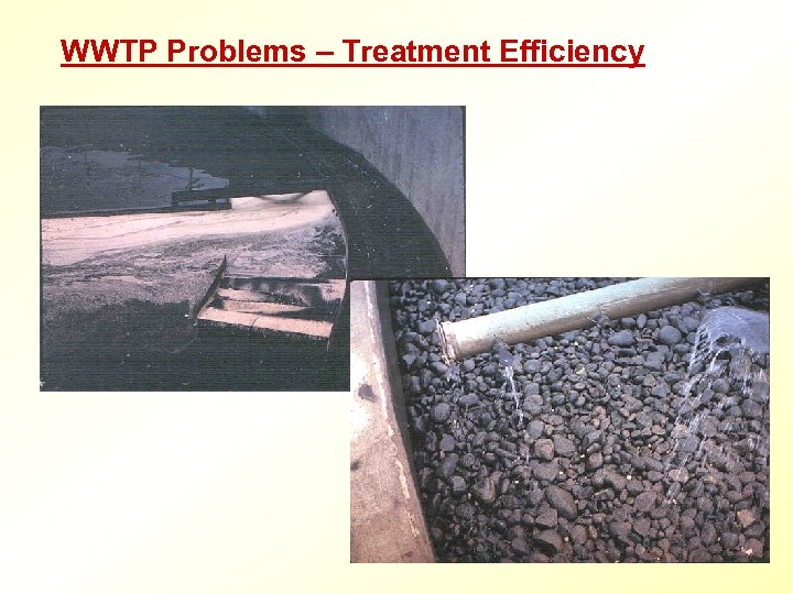 WWTP Problems – Treatment Efficiency