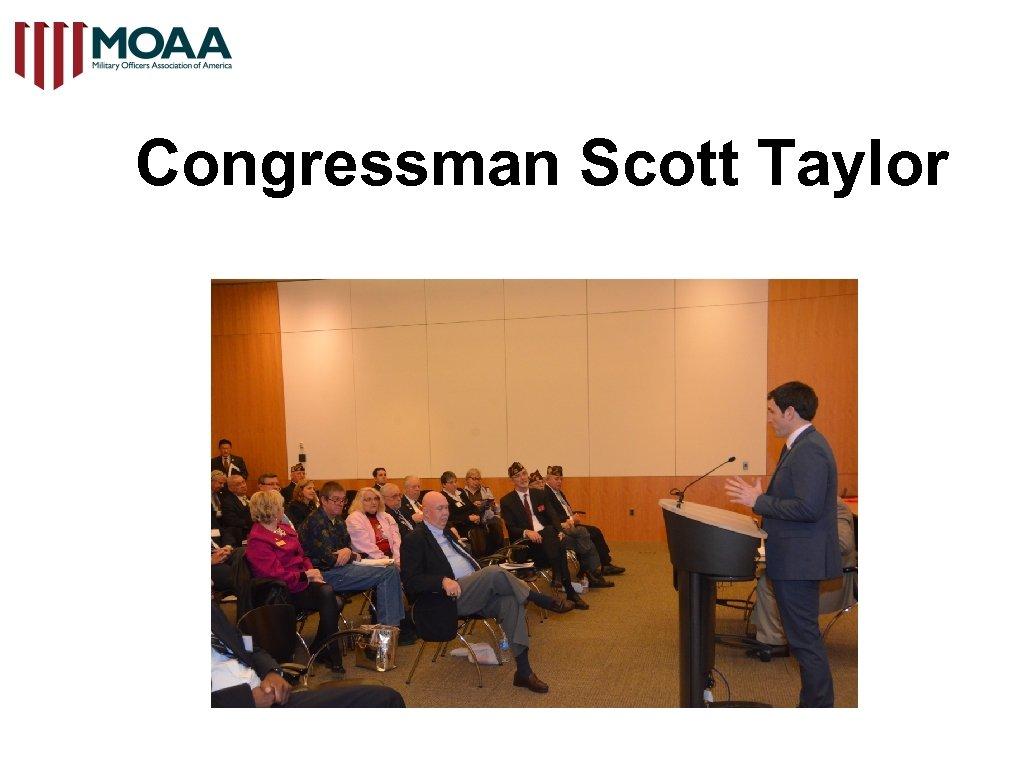 Congressman Scott Taylor