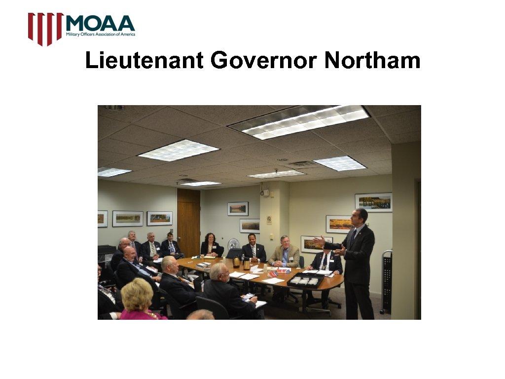 Lieutenant Governor Northam