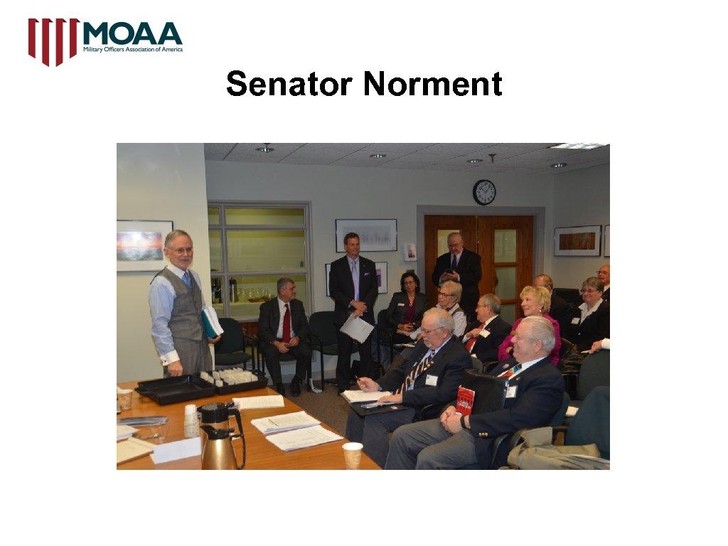 Senator Norment