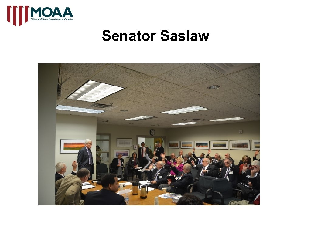Senator Saslaw