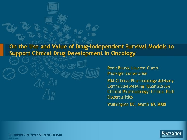 On the Use and Value of Drug-Independent Survival Models to Support Clinical Drug Development