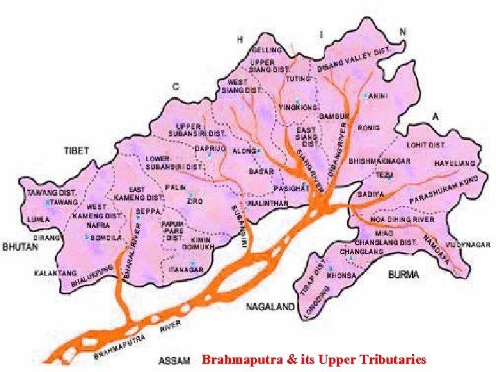 Brahmaputra & its Upper Tributaries