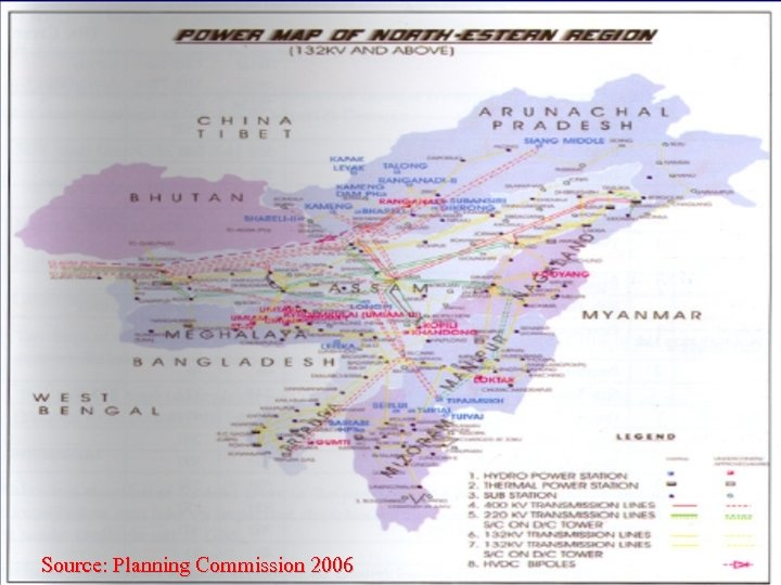Source: Planning Commission 2006