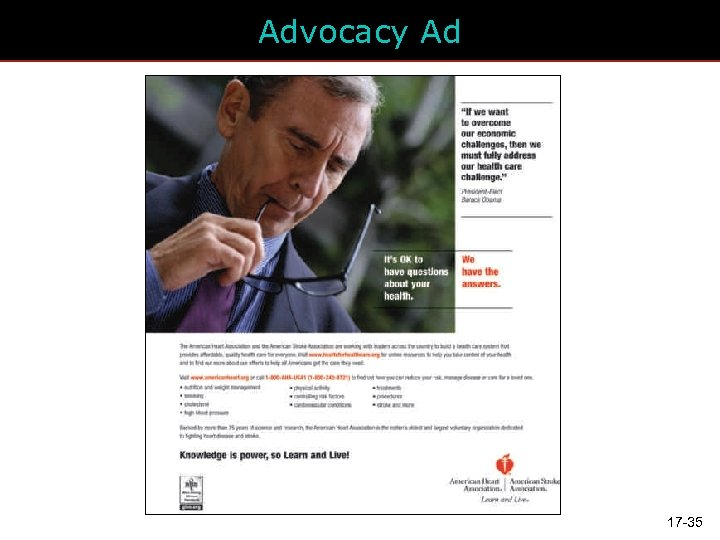 Advocacy Ad 17 -35