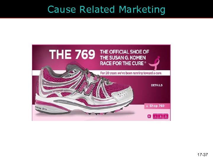 Cause Related Marketing 17 -37
