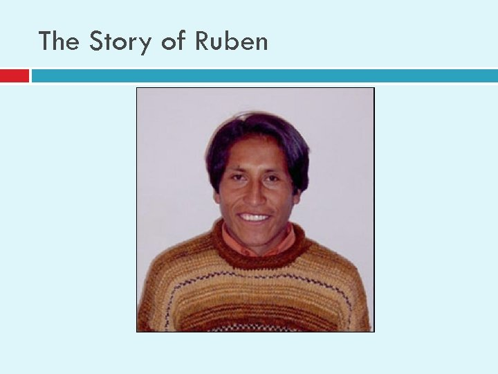 The Story of Ruben