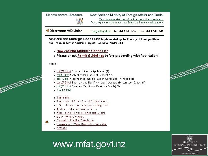 www. mfat. govt. nz