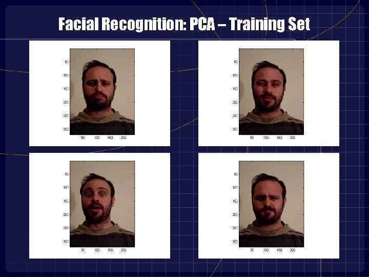 Facial Recognition: PCA – Training Set