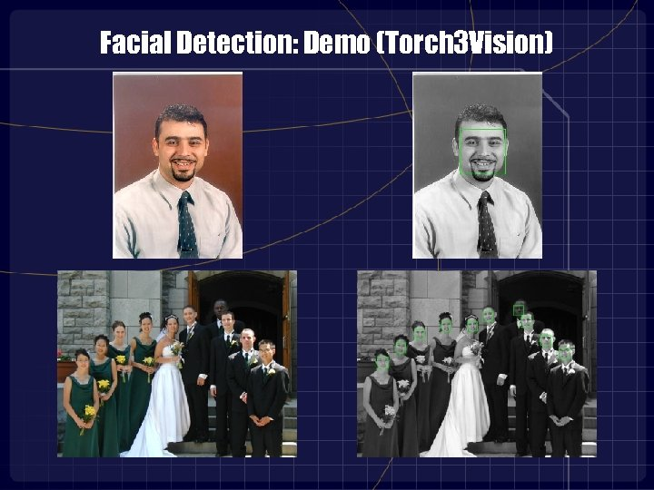 Facial Detection: Demo (Torch 3 Vision)