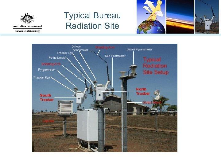 Typical Bureau Radiation Site