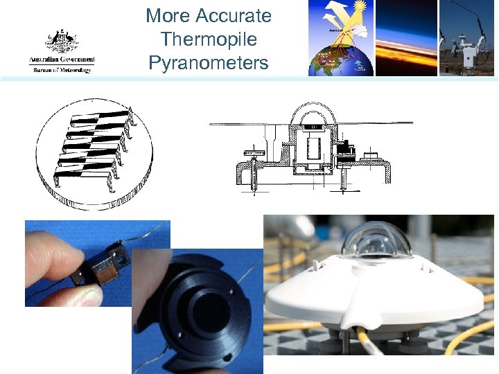 More Accurate Thermopile Pyranometers
