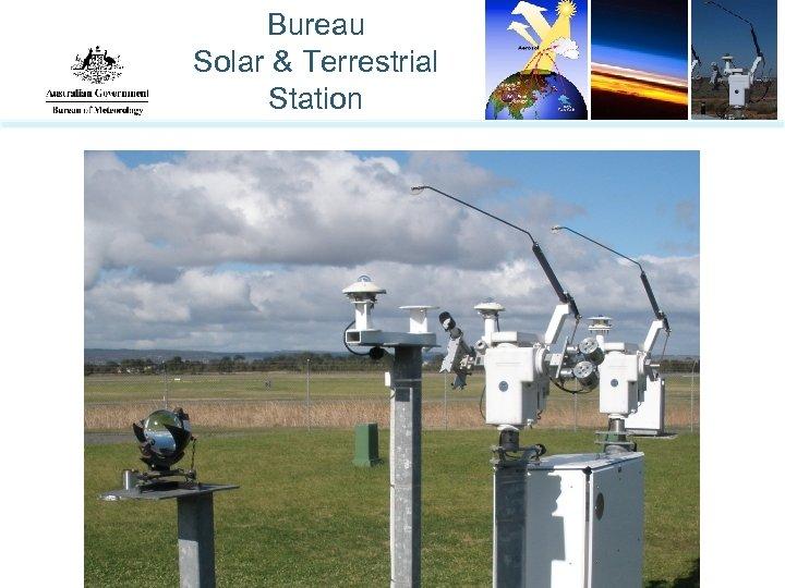 Bureau Solar & Terrestrial Station