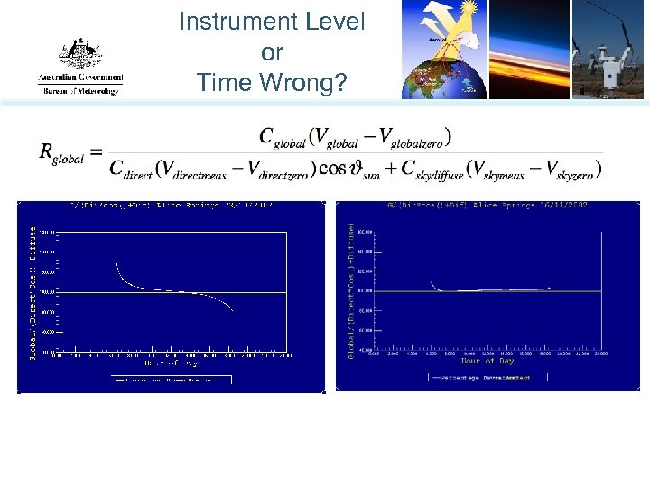 Instrument Level or Time Wrong?
