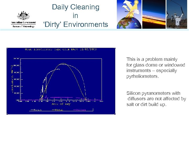 Daily Cleaning in 'Dirty' Environments This is a problem mainly for glass dome or