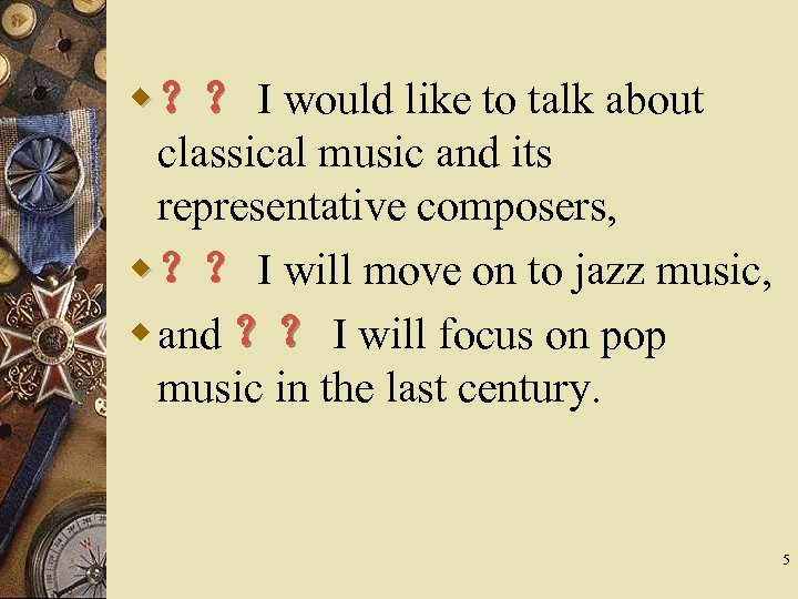 w ?? I would like to talk about classical music and its representative composers,