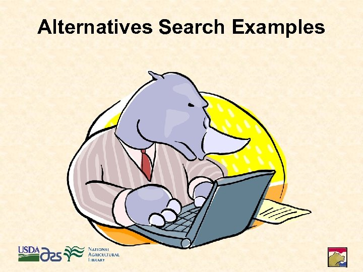 Alternatives Search Examples