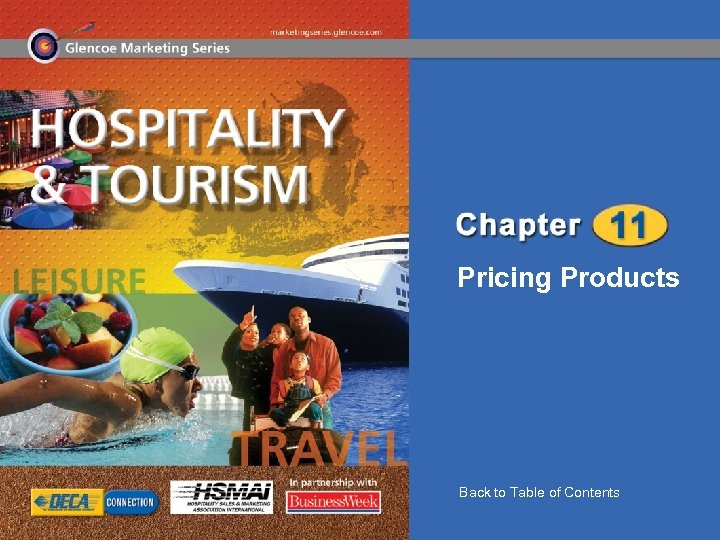 Pricing Products Back to Table of Contents