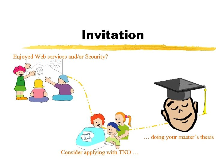 Invitation Enjoyed Web services and/or Security? … doing your master's thesis Consider applying with