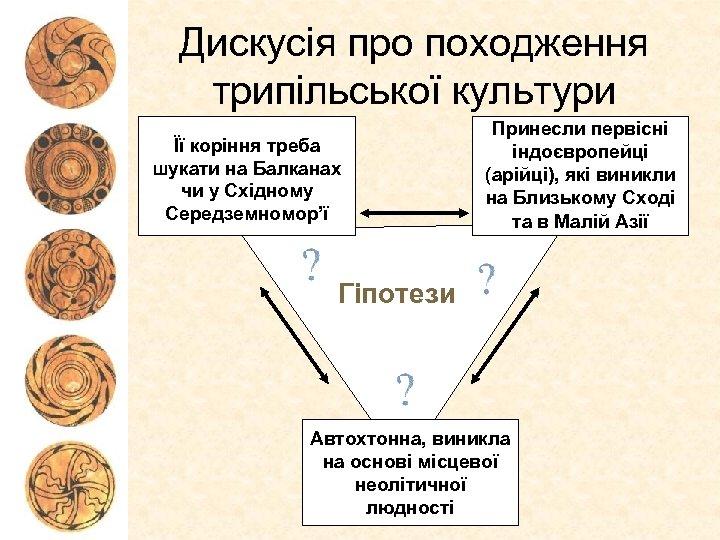 Дискусія про походження трипільської культури Її коріння треба шукати на Балканах чи у Східному
