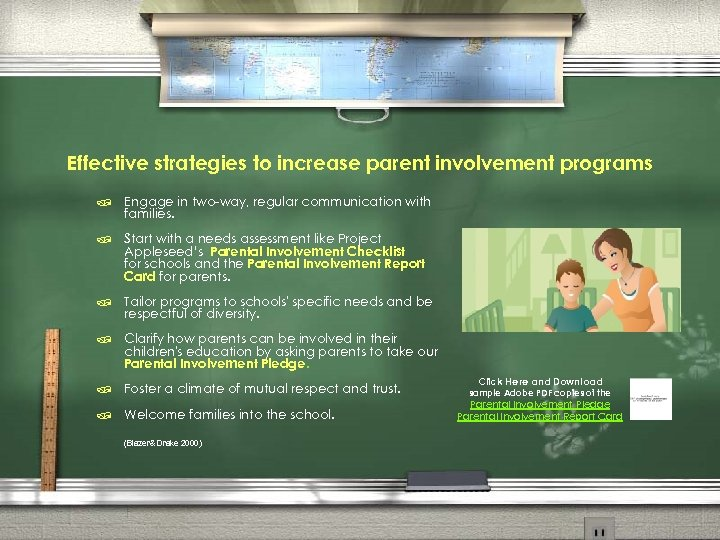 Effective strategies to increase parent involvement programs / Engage in two-way, regular communication with
