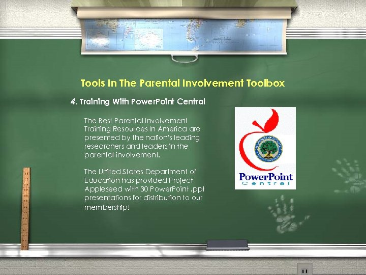 Tools In The Parental Involvement Toolbox 4. Training With Power. Point Central The Best