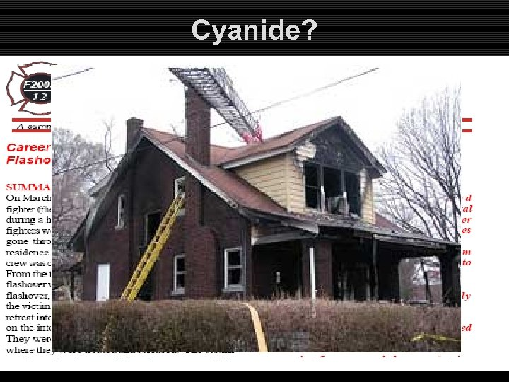Cyanide?