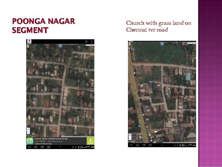 POONGA NAGAR SEGMENT Church with grass land on Chennai tvr road